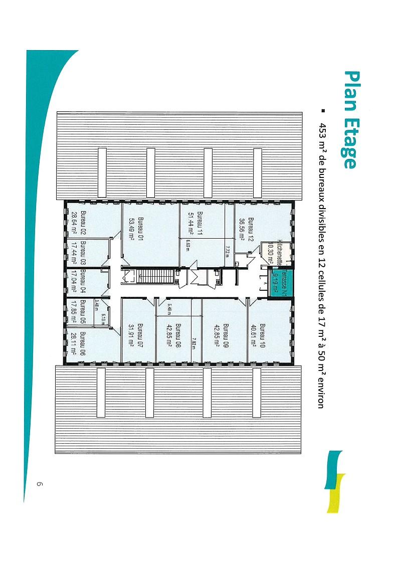 Bureaux à louer - 32.0 m2 - 44 - Loire-Atlantique
