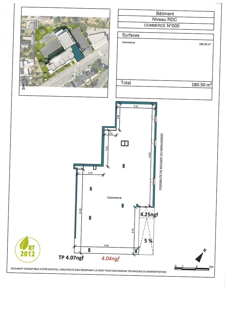 Tous commerces - 180 m² - ST NAZAIRE