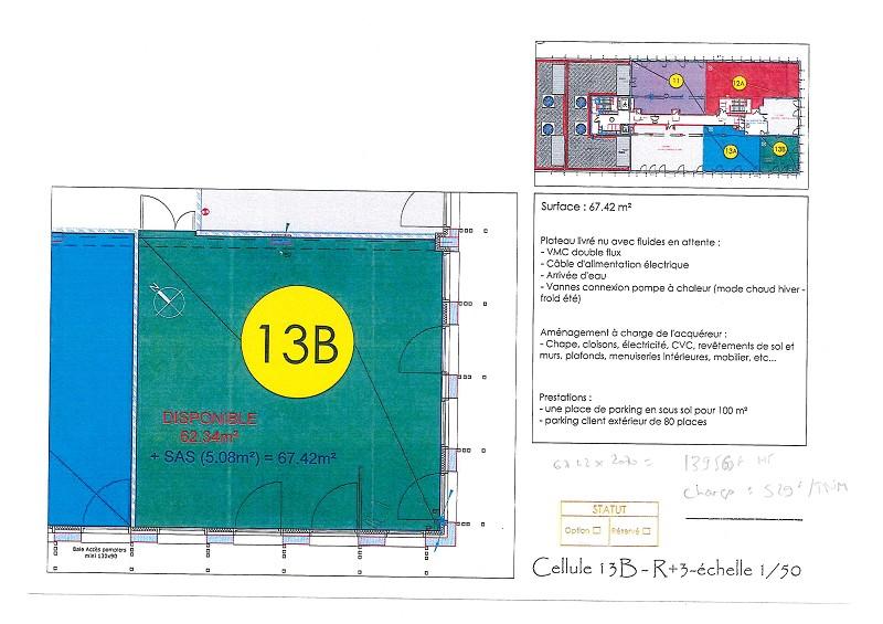 Vente entreprise - Loire-Atlantique (44) - 63.0 m²